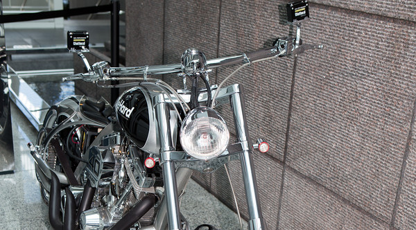 OCC Choppers on display
