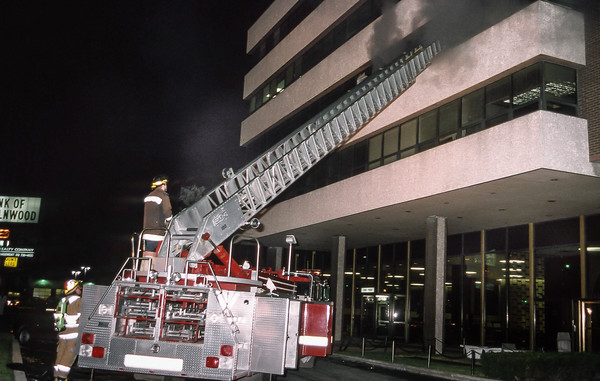 Lincolnwood Bank Fire January 1993